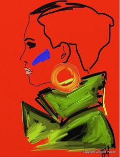 Palettes Of Fashion: Fashion Illustration