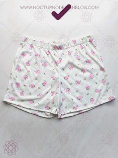 Costura fácil paso a paso. diy short de pijama. costura para principiantes. Tutorial de costura. Sewing Shorts, Diy Shorts, Casual Shorts, Gym Shorts Womens, Design Blog, Night Outfits, Sewing Patterns, Short Dresses, Lingerie