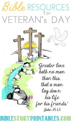 Free Sunday School Crafts and Bible Printables. Perfect for homeschool, and sunday school. Find crafts for important bible themes, holidays and heros. Veterans Day Poem, Free Veterans Day, Veterans Day Activities, Sunday School Lessons, Sunday School Crafts, Lessons For Kids, Bible Lessons, Kids Church, Church Ideas