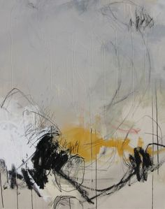 Working in mixed media, his exploration of space and line is often compared to the expressionistic, gestural painters of the mid-20th century.