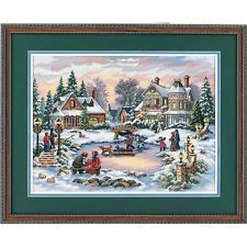 Dimensions D08569 A Treasured Time Christmas Counted Cross Stitch Kit 41 x 30cm