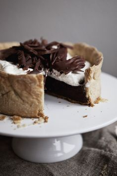 Chocolate Cream Pie | Claudia Gödke