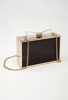 See Through Box Clutch from Forever21 $24,90