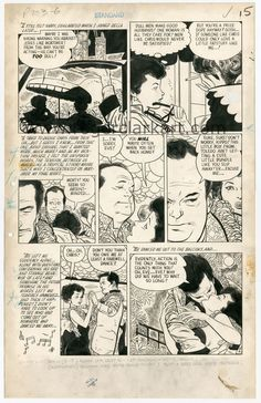 Alex Toth & Mike Peppe: Intimate Love #21 page 6 original art (1953)