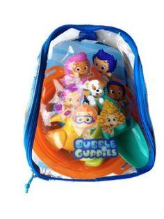 amazoncom bubble guppies beach set backpack toys u0026 games