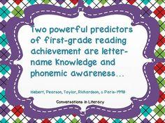 the importance of teaching phonemic awareness