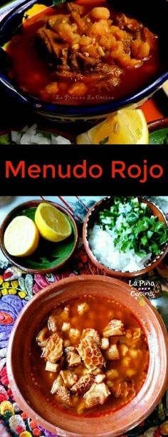 Authentic Mexican Recipes, Menudo Recipe Authentic, Mexican Food Recipes, Lunch Recipes, Breakfast Recipes, Dinner Recipes, Cooking Recipes, Chilli Recipes, Pork Recipes