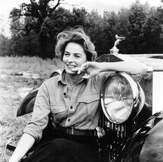 """.:  Ingrid Bergman  :.  """"I was the shyest human ever invented, but I had a lion inside me that wouldn't shut up.""""  } ricksginjoint.tumblr   :."""