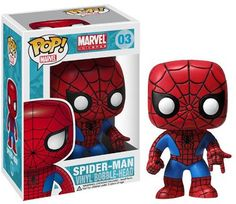 "Spider-Man: ~3.75"" Funko POP! Marvel Universe Vinyl Bobble-Head Figure Brybelly http://www.amazon.com/dp/B007K0J8DI/ref=cm_sw_r_pi_dp_wQsLtb07YEPSD1QJ"