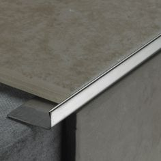 8mm L Shape Trim Silver Gloss | SKU: 903030 | Tile Choice