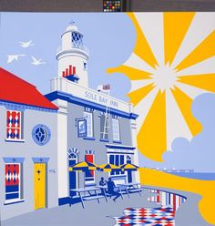 Samuel Thomas   checkout my hand painted artwork focusing on Southwold and the Flagship Adnams Pub