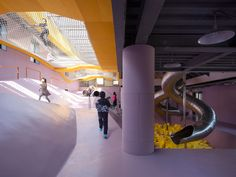 The Playscape -儿童成长中心,北京 / waa未觉建筑 - 谷德设计网 Experiential, Beijing, Kids Playing, Indoor, Learning, Children, Travel, Interior, Young Children