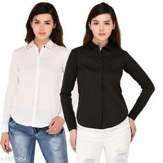 Checkout this latest Shirts Product Name: * Ravishing Polyester Shirt* Fabric: Polyester Sleeve Length: Long Sleeves Pattern: Solid Multipack: 2 Sizes: S, M, L, XL Country of Origin: India Easy Returns Available In Case Of Any Issue   Catalog Rating: ★4 (987)  Catalog Name: Women's Aria Ravishing Polyester Solid Shirts Vol 1 CatalogID_174157 C79-SC1022 Code: 815-1352954-4251