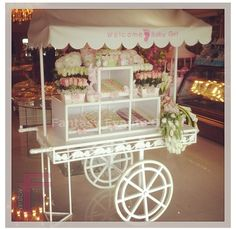 Flower cart - this would be perfect for my new line!