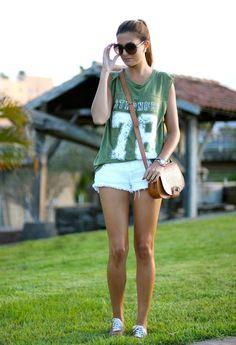 Stronger 78  , Zara en Camisas / Blusas, Zara en Pantalones cortos, Zara en Deportivas, Zara en Bolsos, Mango en Gafas / Gafas de sol