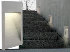 LED Wandeinbauleuchte Treppenbeleuchtung MAX.J04 1,5W 230V IP65 Warmweißes  Licht