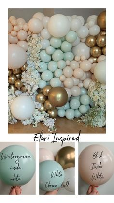 The secret to the elari effect Balloon Wall, Balloon Arch, Balloon Garland, The Balloon, Balloon Ideas, How To Make Decorations, Balloon Decorations Party, Balloon Shades, Balloons Galore