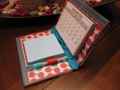 Combination Calendar and Post it Note Holder
