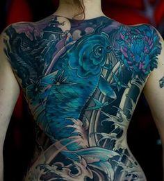 back tattoos for women (119)