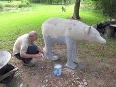 Concrete Sculpture | Concrete Sculpting : Outdoorsculpt.com