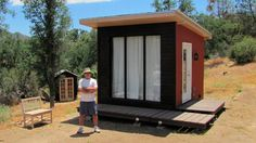 How to Move Yourself Off-The-Grid - The Urban Rancher Off-Grid Cabin - Tiny House Design