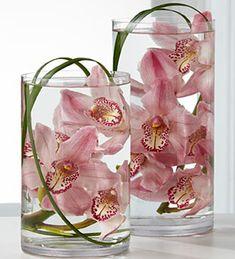 Orchid arrangement idea