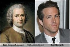 Ryan Reynolds and Jean Jaques Rousseau