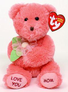 bc8f7f294af Dear Mom - bear - Ty Beanie Babies Rare Beanie Babies