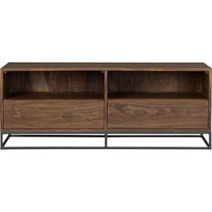 prime media console in storage | CB2