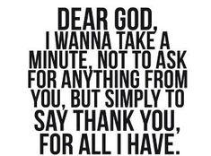 Thankful.
