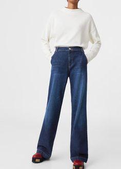 Jeans flare Wideleg