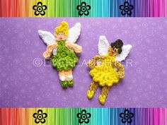 Ballerina and Fairy Applique  pattern on Craftsy.com