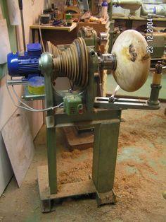 Diy Lathe, Lathe Tools, Wood Tools, Wood Lathe, Wood Turning Lathe, Wood Turning Projects, Diy Wood Projects, Homemade Lathe, Homemade Tools