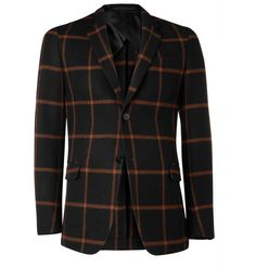 Gucci Slim-Fit Wool and Cashmere-Blend Blazer | MR PORTER