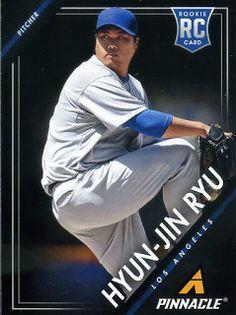 Dodgers Blue Heaven: 2013 Panini Pinnacle Baseball - Dodgers Base Cards Hyun-Jin Ryu