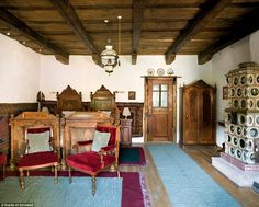 Carefully chosen: The house in Zalanpatak used to belong to the village judge, and is furn...