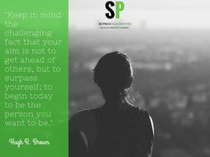 Be the person you want to be #SciTechspiration