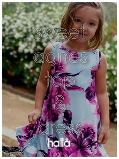 sweet agnes swing top & dress