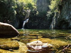 Vathres* Samothraki island Enchanted River, Greek Islands, Waterfalls, Rivers, Greece, Places, Travel, Beauty, Beautiful