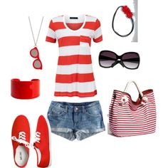 Casual Summer, created by tmsimp3.polyvore.com