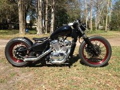 Honda vt600 shadow bobber. Starting back on mine this fall