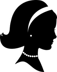 Silhouette of Kate Landers, Property of Kate Landers. Silhouette Cameo, Woman Silhouette, Vintage Silhouette, Princess Silhouette, Silhouette Painting, Silhouette Images, Southern Charm, Southern Belle, Images Vintage
