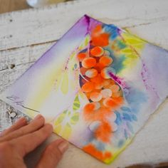 """x Original watercolor """"Tye Dye"""" painted in bright, happy colors of oranges and purples. Great gift for an art lover! Come shop our affordable art at Rene' Paints! Watercolor Paper, Watercolor Paintings, Original Paintings, Original Art, Watercolors, Happy Colors, Affordable Art, Tye Dye, Orange And Purple"""