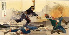 Guerre russo-japonaise, image de propagande