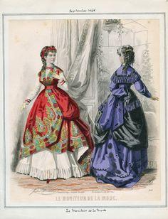 Le Moniteur de la Mode September 1868 LAPL