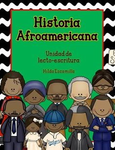 En esta unidad, sus alumnos aprenderán sobre 10 afroamericanos estodounidenses. Incluído, está todo lo necesario para que completen un portafolio, reports y más.