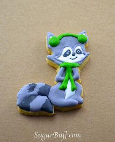 Sugar Buff : Woodland Creature Cookies