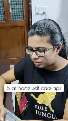5 at home self care tips!