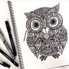 Oh! I woke up this morning and also wanted an owl tattoo. So now I know my next 3 lol
