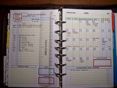 Monthly DIY Planner view by event13, via Flickr